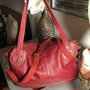 The sak handbags color red